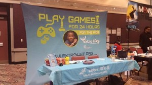 Extra Life Booth